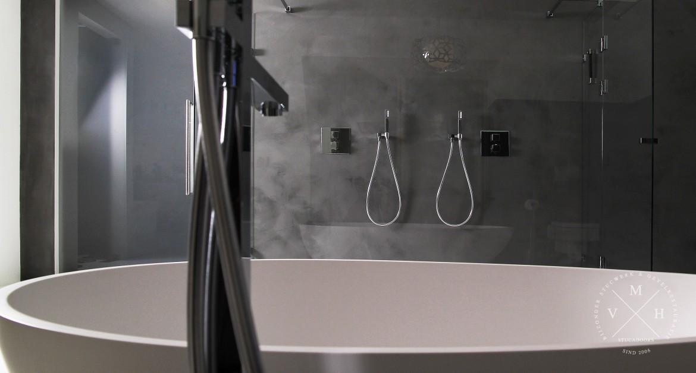 Tadelakt in de badkamer - uw badkamer zonder tegels! | M.v.H.